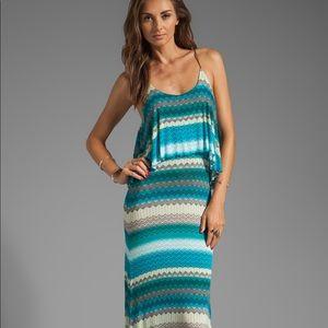 Karina Grimaldi Vera knit maxi dress.